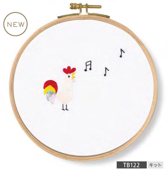 DMC 刺繍キット PET'S PARTY Sing! Chicken TB122 【参考画像1】