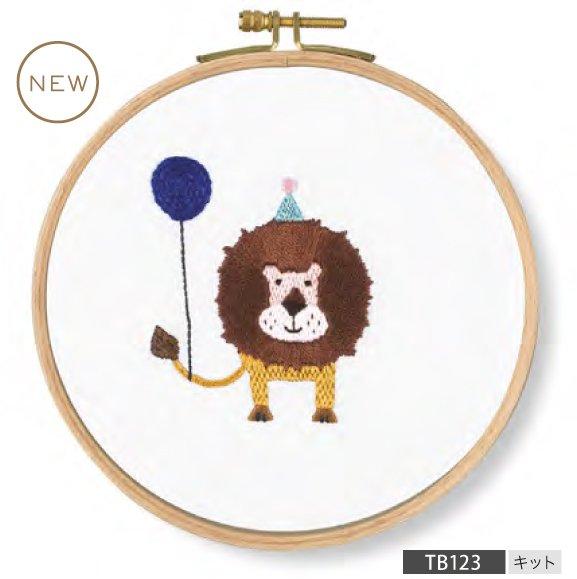 DMC 刺繍キット PET'S PARTY Roar! Lion TB123 【参考画像1】