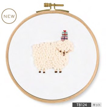 DMC 刺繍キット PET'S PARTY For you! Sheep TB124
