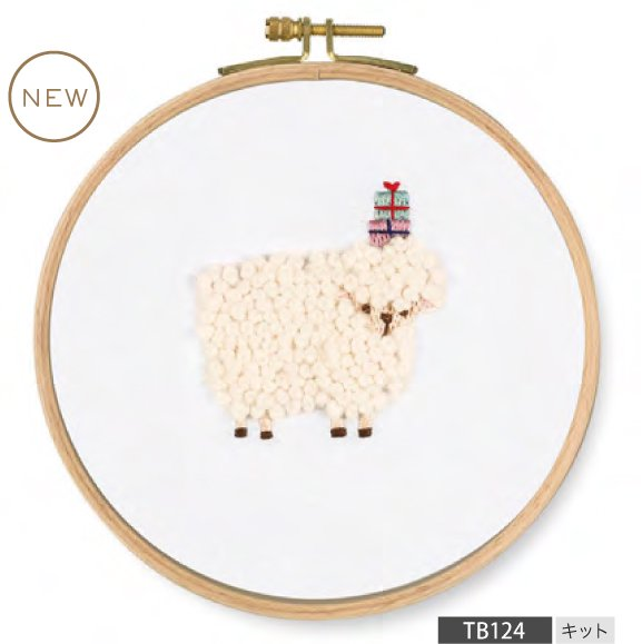DMC 刺繍キット PET'S PARTY For you! Sheep TB124 【参考画像1】