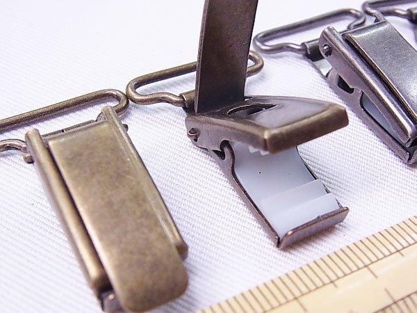 ソウヒロ サスペンダー用金具 JTMP-181 20mm幅用 【参考画像4】