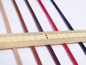 ヌメ革テープ JTT-K32 3mm幅カット ソウヒロ
