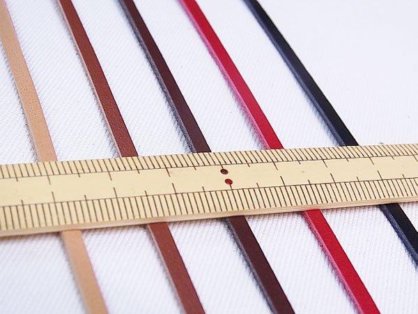 ヌメ革テープ JTT-K32 3mm幅カット ソウヒロ 【参考画像3】