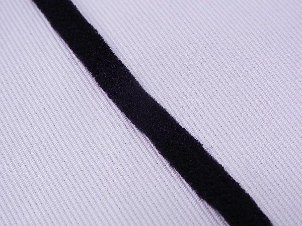 ■品切れ■ ウーリースピンテープ 黒 5mカット マスクゴムの代用品 【参考画像2】