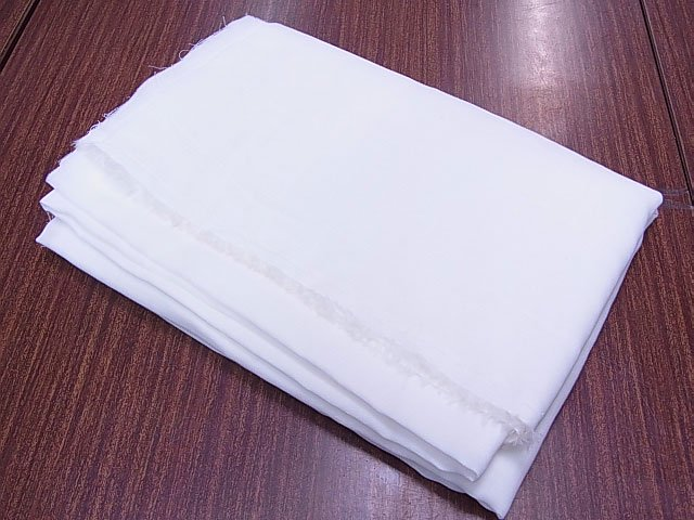 ダブルガーゼ生地 白 約150cm幅 1mカット 【参考画像5】