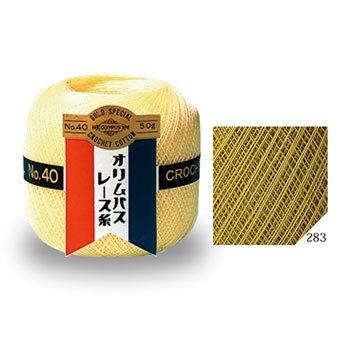 オリムパスレース糸 金票 40番 col.283 1箱(3玉入x50g)