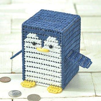 ハマナカ エコアンダリア 手芸キット ペンギンさんの貯金箱 H367-286