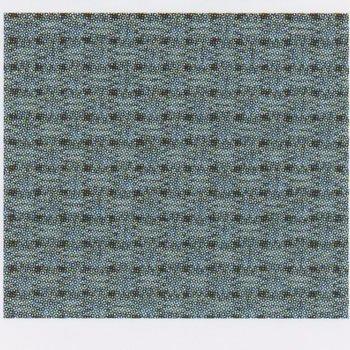 コスモ 刺繍布 ジャバクロス 65 約89cm×5m No.65100 col.90 ビンテージブルー
