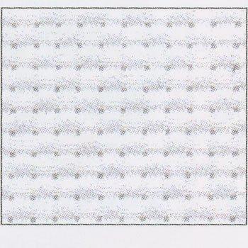 コスモ 刺繍布 ジャバクロス 55 約89cm×5m No.3900 col.11 ホワイト