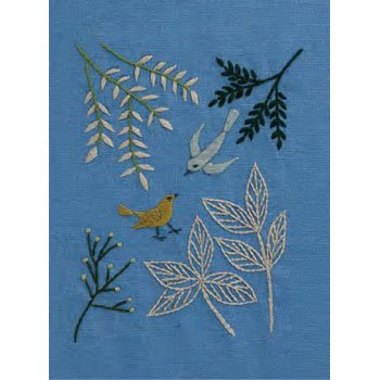 DMC 刺繍キット 若葉の季節 5月 JPT43 マカベアリス刺繍カレンダー