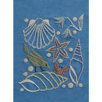 DMC 刺繍キット 海の思い出 8月 JPT46 マカベアリス刺繍カレンダー