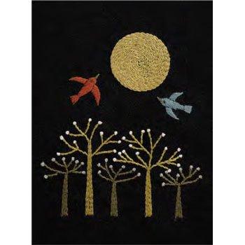 DMC 刺繍キット 満月の夜 9月 JPT47 マカベアリス刺繍カレンダー