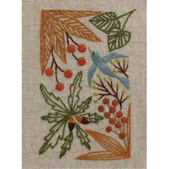 DMC 刺繍キット 秋の贈り物 11月 JPT49 マカベアリス刺繍カレンダー
