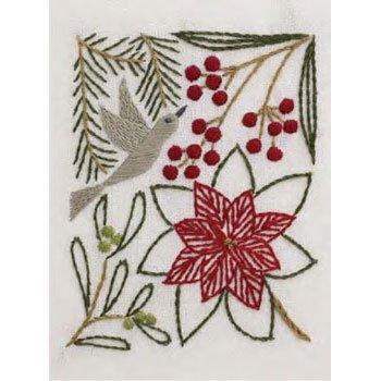 DMC 刺繍キット 冬の彩り 12月 JPT50 マカベアリス刺繍カレンダー