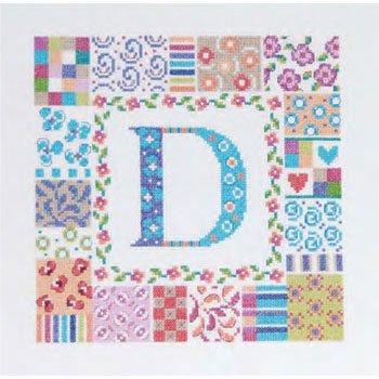 DMC 刺繍キット ALPHABET PATCH BK1208