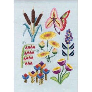 DMC 刺繍キット WATERSIDE BK1932 Flowers&Botanical