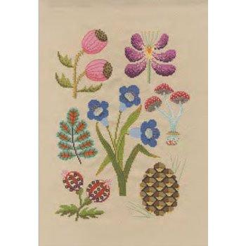 DMC 刺繍キット FOREST BK1934 Flowers&Botanical