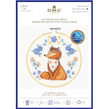 DMC 刺繍キット FOX BK1924 FOLK ANIMALS