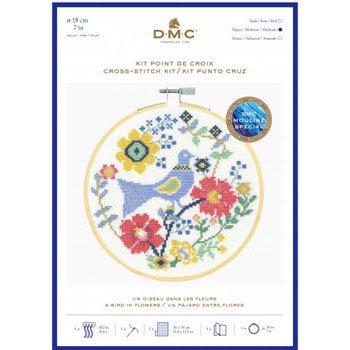 DMC 刺繍キット BLUE BIRD BK1929 FOLK BIRDS