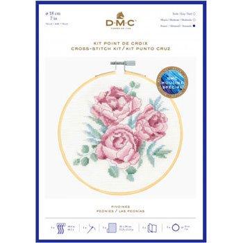 DMC 刺繍キット PEONIES BK1936 VINTAGE FLOWERS