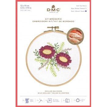 DMC 刺繍キット WILD DAHLIA TB155 FLORAL EMBROIDERIES