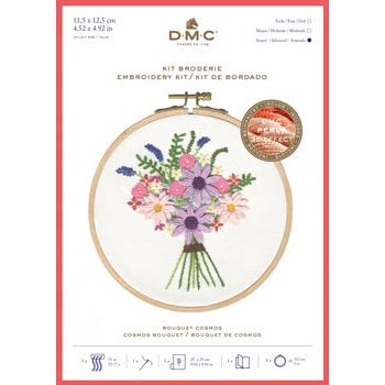 DMC 刺繍キット COSMOS BOUQUET TB156 FLORAL EMBROIDERIES