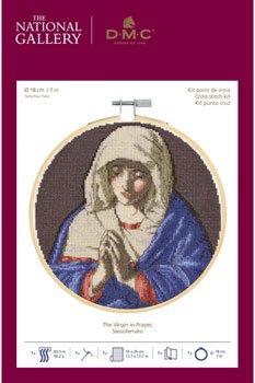 DMC 刺繍キット ジョバンニ・バッティスタ・サルヴィ 祈りのマドンナ BL1210/71