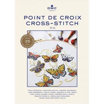 DMC 本 BOOKLET CROSS STITCH 新色図案集 15480/22 CROSS STITCH BOOK