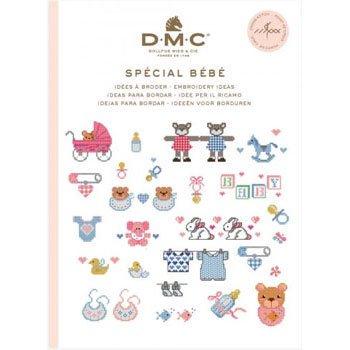 DMC 本 SPECIAL BEBE 15626B CROSS STITCH MINI BOOK