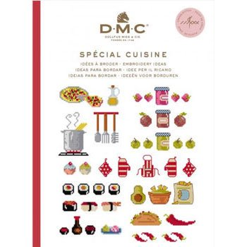 DMC 本 SPECIAL CUISINE 15626C CROSS STITCH MINI BOOK
