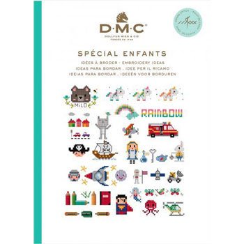 DMC 本 SPECIAL ENFANTS 15626E CROSS STITCH MINI BOOK