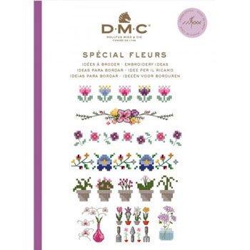 DMC 本 SPECIAL FLEURS 15626F CROSS STITCH MINI BOOK