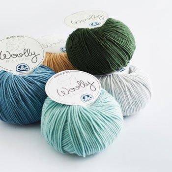 DMC 毛糸 ウーリー Woolly 1袋(5玉入)