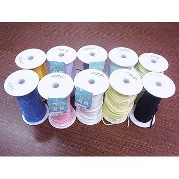カラーマスクゴム 平5mmタイプ 抗菌防臭加工