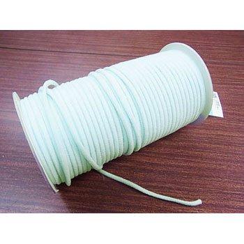 カラーマスクゴム 平5mmタイプ パステルカラー ブルー No.283 抗菌防臭加工