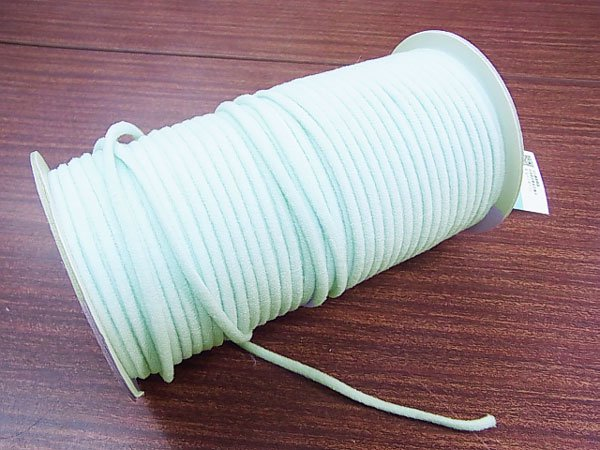カラーマスクゴム 平5mmタイプ パステルカラー ブルー No.283 抗菌防臭加工 【参考画像4】
