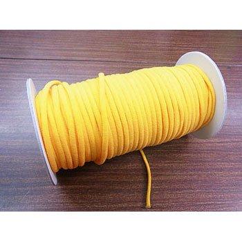 カラーマスクゴム 平5mmタイプ オレンジ No.289 抗菌防臭加工