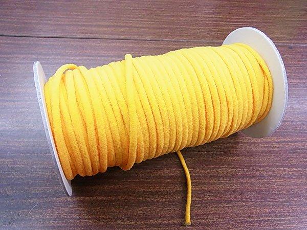 カラーマスクゴム 平5mmタイプ オレンジ No.289 抗菌防臭加工 【参考画像4】