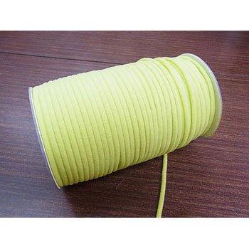カラーマスクゴム 平5mmタイプ グリーン No.290 抗菌防臭加工