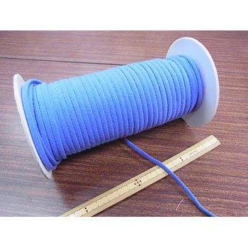 カラーマスクゴム 平5mmタイプ ブルー No.291 抗菌防臭加工