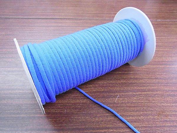 カラーマスクゴム 平5mmタイプ ブルー No.291 抗菌防臭加工 【参考画像3】