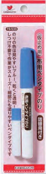 河口 KAWAGUCHI 布用ペンタイプのり 19-533 【参考画像1】