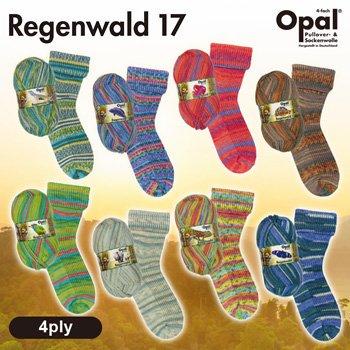 Opal 毛糸 オパール レーゲンヴァルド 17 4ply Regenwald