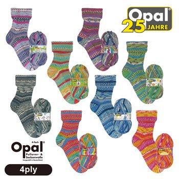 Opal 毛糸 Opal 25 Jahre オパール 25周年アニバーサリーコレクション 4ply