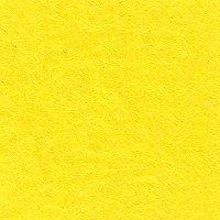 ■廃番■ カラーフェルト生地 厚さ1mm 100cm幅 黄色 col.331