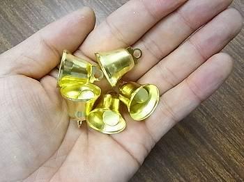 クリスマス ベル(鈴) 20ミリ ゴールド 5個入り