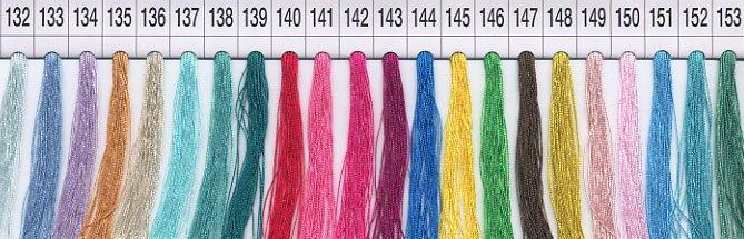 フジックス タイヤー 絹手縫い糸・絹カード 132〜153 【参考画像1】