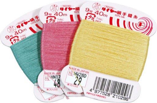 フジックス タイヤー 絹手縫い糸・絹カード 132〜153 【参考画像2】