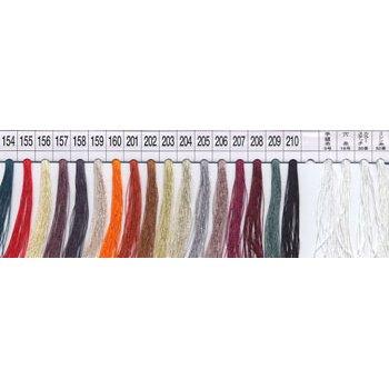 フジックス タイヤー 絹手縫い糸・絹カード 154〜210