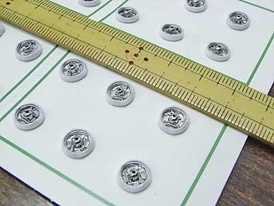 シルクスナップボタン 白 7mm 【参考画像1】